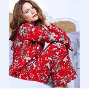 Victoria's Secret Tiger Print Pajama Set